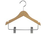 Childrens Clothes Hangers are durable and economical. We have a variety of styles of plastic, wood and presentation clothing hangers to meet your store display needs: Shirt Hangers, Skirt Hangers, Coat Hangers, Pant Hangers, Trouser Hangers, Suit Hangers, Dress Hangers, Kids Hangers & Baby Hangers.  Black Hangers, White Hangers, Clear Hangers and Wood Hangers are available in these styles. These wholesale hangers are also available with special bulk hanger pricing for large quantity requests.